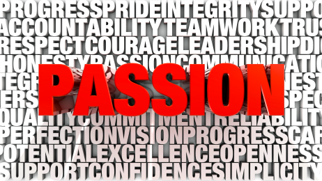 words relating to passion based learning