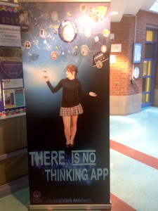 Brilliant student created banner