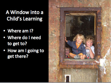 A Window into a Child's Learning