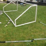 Mini-Golf Soccer Net Front Yard