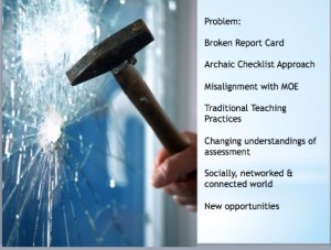 Problem Report Cards Glass Shattering 2