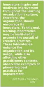 Innovators inspire....learning labs Ryan 2